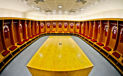 Arsenal Stadium Tour - What is it like to tour Emirates Stadium and Arsenal museum? Home team dressing room
