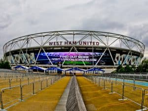 West Ham Stadium Tour - London Stadium - Location