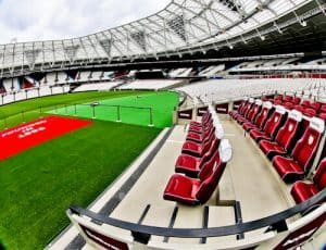 West Ham Stadium Tour - London Stadium - Dugout