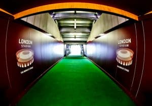 West Ham Stadium Tour - London Stadium - Players Tunnel