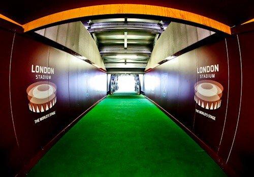 West Ham Stadium Tour - London Stadium - Players Tunnel