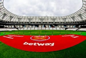 West Ham Stadium Tour - London Stadium - Pitch Side