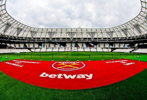West Ham Stadium Tour - London Stadium - Pitch Side