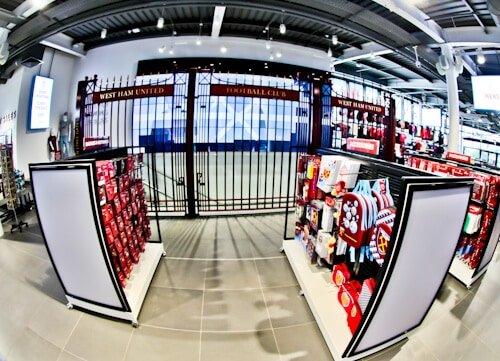 West Ham Stadium Tour - London Stadium - John Lyall Gates