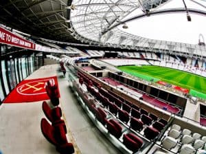 West Ham Stadium Tour - London Stadium - Royal Box