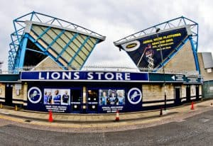 Millwall Stadium Tour - The Den, Millwall FC Ground - Millwall Club Store (Lions Store)