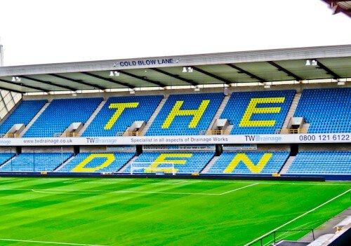 Millwall Stadium Tour - The Den, Millwall FC Ground