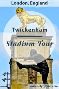 Twickenham Stadium Tour review - I visited Twickenham stadium and the world rugby museum and share images from my experience.