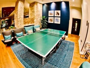 Staybridge Suites - London Vauxhall - Where to stay in London - Table Tennis during Social Hour