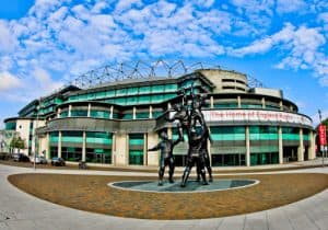 Twickenham Stadium Tour review with pictures - rugby stadium address