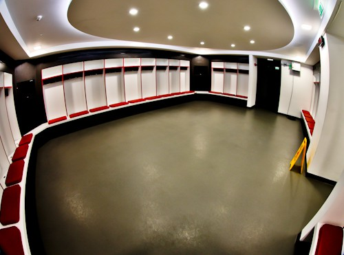 Twickenham Stadium Tour review with pictures - Away team dressing room