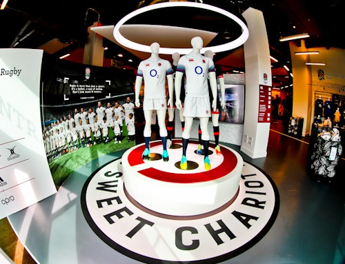 Twickenham Stadium Tour review with pictures - meeting point - England Rugby Store