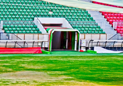 Diyarbakır Stadium Tour - Diyarbakırspor FC - Kurdistan, Turkey - Players Tunnel
