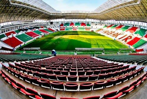 Diyarbakır Stadium Tour - Diyarbakırspor FC - Kurdistan, Turkey - Stadium