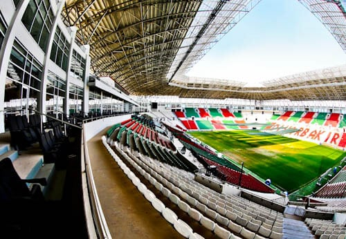 Diyarbakır Stadium Tour - Diyarbakırspor FC - Kurdistan, Turkey - VIP Seats
