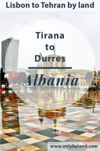 Tirana Albania - What to see including a pyramid
