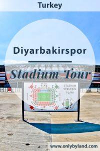 Diyarbakir Stadium Tour - A tour of the home stadium of Diyarbakirspor FC in Kurdistan, Turkey