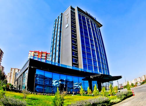 Radisson Blu Hotel Diyarbakir Turkey Kurdistan - Location