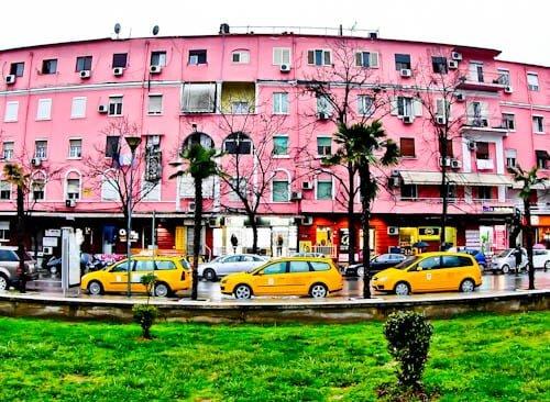 Tirana Albania - What to see - Colorful Houses of Tirana