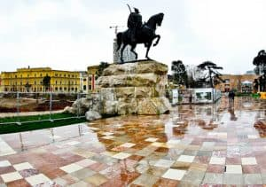 Tirana Albania - What to see - Skanderbeg Square