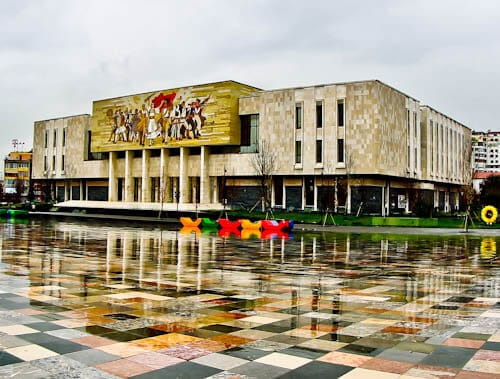 Tirana Albania - What to see - National Museum of History