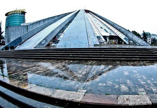 Tirana Albania - What to see - Tirana Pyramid