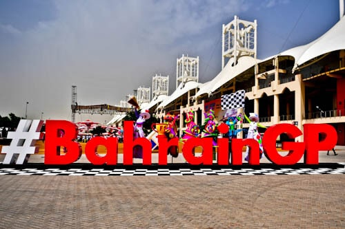 Things to do in Bahrain - Bahrain Grand Prix 2018 Sign