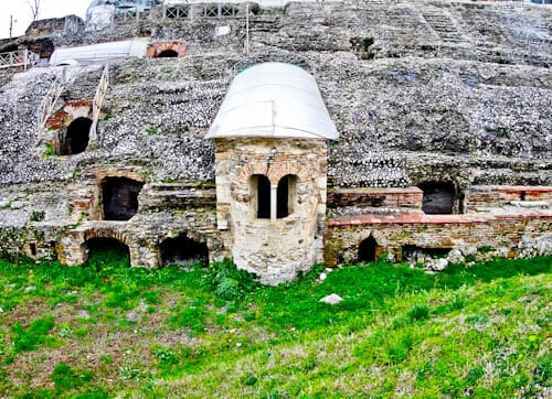 Albania - Roman Amphitheater of Durres - Chapel