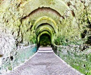 Albania - Roman Amphitheater of Durres - Historic Entrance