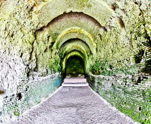 Albania - Roman Amphitheater of Durres - Historic Entrance