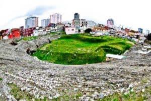 Albania - Roman Amphitheater of Durres - Explore the interior and underground like Indiana Jones