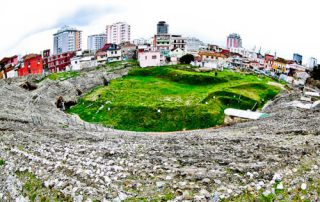 Albania - Roman Amphitheater of Durres - Explore the interior and underground like Indiana Jones