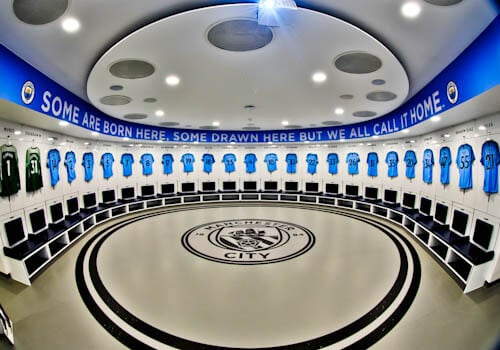 Manchester City Stadium Tour - Home Team Dressing Rooms