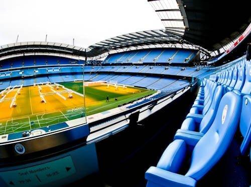 Manchester City Stadium Tour - Etihad - VIP seats and Royal box
