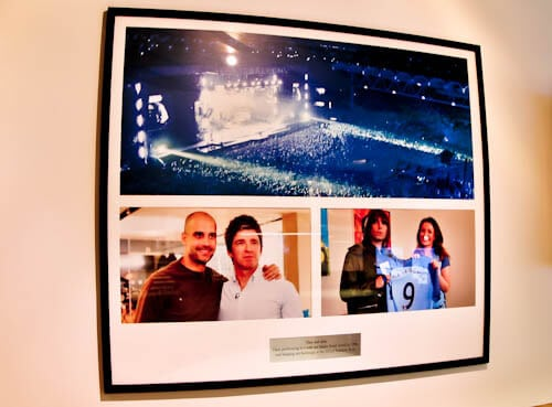 Manchester City Stadium Tour - Etihad - Oasis in Manchester - Liam Gallagher / Noel Gallagher