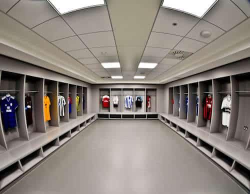 Manchester City Stadium Tour - Away Team Dressing Rooms