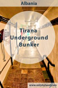 Secret Nuclear Bunker - Tirana Albania Cold War - Bunk Art 2