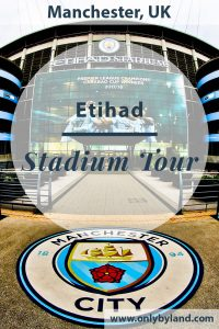 Manchester City Stadium Tour. A tour of the Etihad stadium, home of Man City.