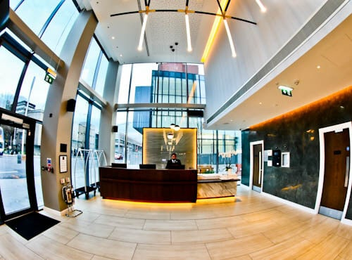 Crowne Plaza Hotel - Manchester Oxford Road - Check In / Reception