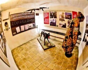 Secret Nuclear Bunker - Tirana Albania Communist Era - Bunk Art 2 - Gendarmerie