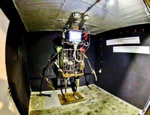 Secret Nuclear Bunker - Tirana Albania Communist Era - Bunk Art 2 - Robocop Style Artwork
