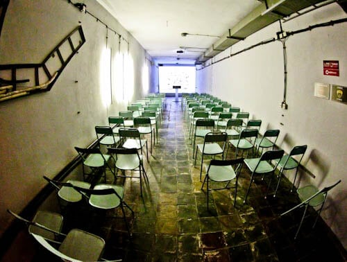 Secret Nuclear Bunker - Tirana Albania Communist Era - Bunk Art 2 - Conference Room