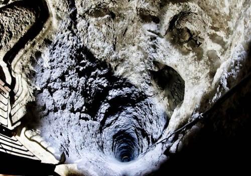The Deepest Cappadocia Underground City - Derinkuyu - Ventilation Shaft