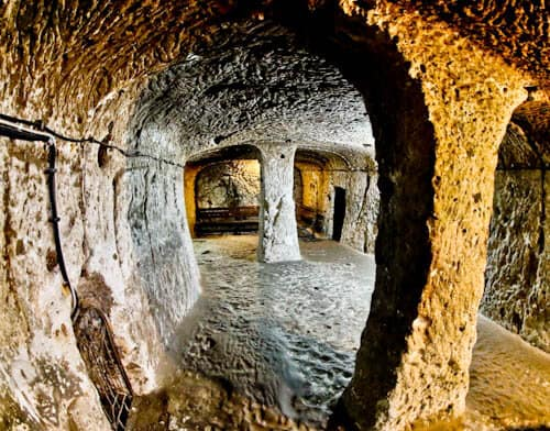 The Deepest Cappadocia Underground City - Derinkuyu - Exploring the different rooms and chambers
