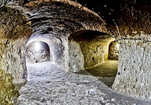 The Deepest Cappadocia Underground City - Derinkuyu - What is the purpose?