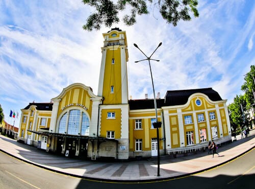Things to do in Burgas Bulgaria - Train Station
