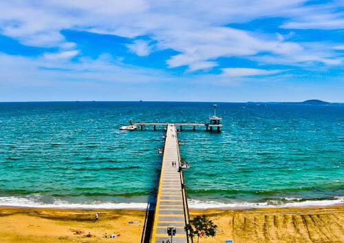 Things to do in Burgas Bulgaria - Beach and pier
