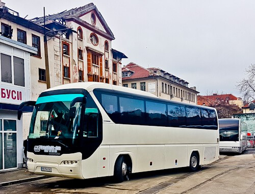 how to get from sofia to plovdiv - bus
