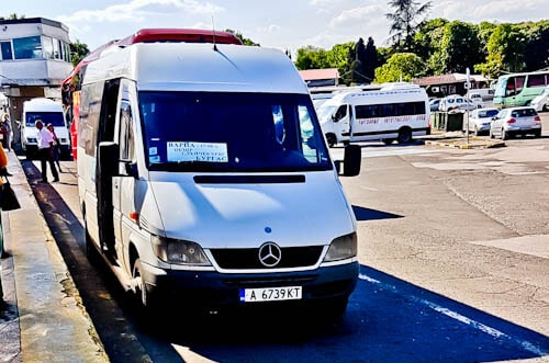 How to get from Varna to Sunny Beach