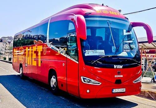 How to get from Veliko Tarnovo to Varna